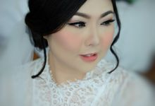 The Bride, Ms.Audrey by Beyond Makeup Indonesia