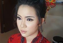 Makeup Sangjit Nadia by fleur