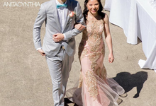 Wedding Gown For Mrs.Angelia, Seattle US by Anita Cynthia Couture