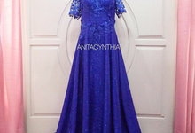 Electric Blue Gown For Grandmom by Anita Cynthia Couture