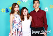 Jiayang & Hazel - Wedding Photo Booth by Cloud Booth
