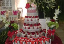Wedding Cupcake by MycakehouseJakarta