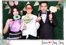 Jason and Qing Qing - Wedding Photo Booth by Cloud Booth
