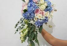 Handbouquet For Putri by nanami florist