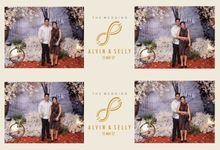 Alvin & Selly by Twotone Photobooth