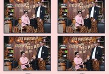 Bagus & Mia by Twotone Photobooth
