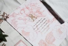 Robby & Cindy Tie The Knot by Ink on Paper