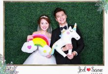 Joel & Serene - Wedding Photo Booth by Cloud Booth