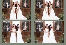 Deny & Yuriko by Twotone Photobooth