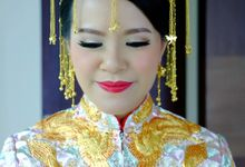 The Bride Ms.Melissa from Kuala Lumpur by Beyond Makeup Indonesia