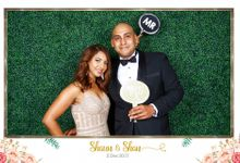 Shaun & Shan Wedding Photo Booth by Cloud Booth