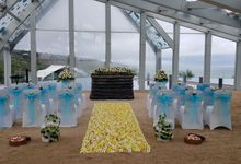 Wedding Decoration by Le Meridien Bali Jimbaran