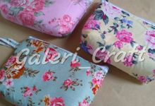 Pouch Katun for Fay & Aan Kediri by Galeri Craft
