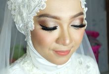 Arinta Wedding by Makeup by Ziamafada