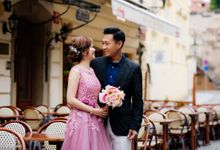 Pre-wedding photo shoot in Prague by Victor Zdvizhkov Prague Photographer
