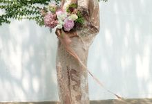 Araluen Flowers Photoshoot by Everly Atelier