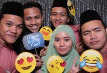 Tunku Saidatul Wedding by InstaboothKL