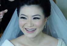 Bridal Makeup for Melinda by Beyond Makeup Indonesia