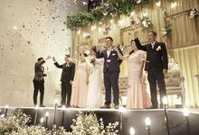 Yulius & Caroline Wedding by Fiori.Co