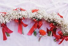 Bride Bouquet by Mardhiyah Florist