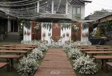 Traditional Twist in Modern Wedding of Atsiri & Andri by Elior Design