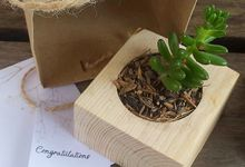 Cactus Wedding Souvenir by LitterAlly by Arunika