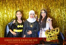 Golden Strips Backdrop by Once A Prop A Time Pte Ltd