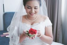 The Wedding of Ms. Devina by Tiffany's Flower Room