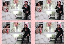Bernadi & Silvia by Twotone Photobooth