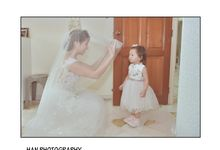 Wedding Actual Day Nie Xin And Jing Long by Han Photography