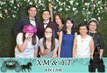 Floral Garden Backdrop by Once A Prop A Time Pte Ltd