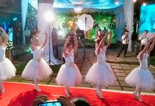 Wedding Elin & Reska by Stefie's Dance Academy