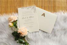 Amit & Ahana by Vinas Invitation