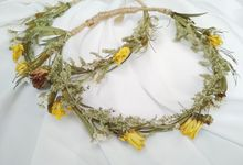 Dried Flower Crown by LitterAlly by Arunika