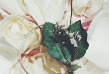 Dried Flower Corsage by LitterAlly by Arunika