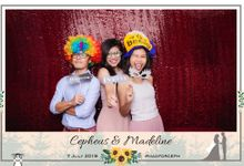 Wedding Photobooth - Cepheus & Madeline by Alan Ng Photography