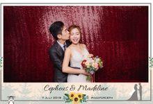 Wedding Photobooth - Cepheus & Madeline by Alan Ng Photography