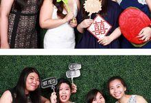 Edward & Amanda Wedding Photo Booth by Cloud Booth