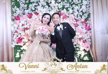 Photobooth The Engagement of  Vanni & Anton by SEMUT PUTIH PROJECT