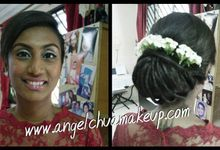 Indian Solemnization Happiness by Angel Chua Lay Keng Makeup and Hair
