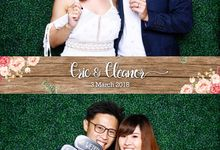 Eric & Eleanor Wedding Photo Booth by Cloud Booth