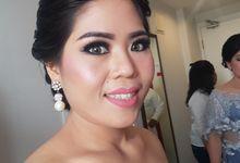 bride story by Lan Lan makeup & Hair Stylist
