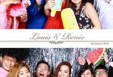 Louis & Renee Wedding Photo Booth by Cloud Booth