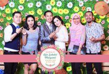 Aji & Yanti Photobooth Wedding by Kece Photobooth