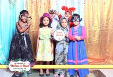 Photobooth Wedding For Meilani & Boma by Kece Photobooth