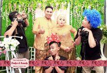 Photobooth For Wedding Finka & Sandy by Kece Photobooth