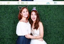 Alvin & Elaine Wedding Photo Booth by Cloud Booth