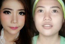 Bridal & Graduation Makeup by Makeup by siscaang
