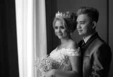 Wedding Day nia And Steve by elinnboend makeup artist