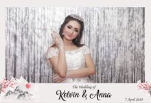 KELVIN & ANNA WEDDING by snaphot official photobooth